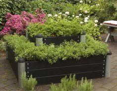 Plus PIPE højbed højde - sortgrundet Sorting, Plants, Creative, Plant, Planets