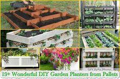 19+-Wonderful-DIY-Garden-Planters-from-Pallets