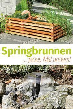 Die 85 besten Bilder von Gartenteich, Springbrunnen etc. | Water ...