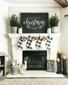 #ChristmasDecor #SweaterWeather #FirePlace #Cozy #Warm - Architecture and Home Decor - Bedroom - Bathroom - Kitchen And Living Room Interior Design Decorating Ideas - #architecture #design #interiordesign #homedesign #architect #architectural #homedecor #realestate #contemporaryart #inspiration #creative #decor #decoration