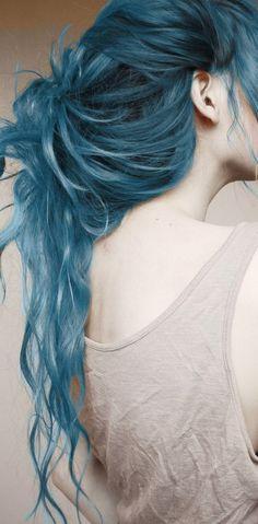 Blue hair! :)