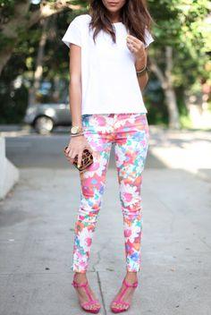 Cute Floral Pants!!