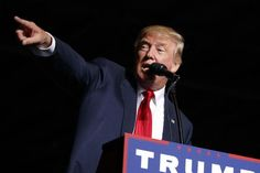 Donald Trump speaks during a campaign rally.  Hillary Clinton may still be ahead in most national polls, but at least one expert remains convinced that Donald Trump will be our next president.  American University Professor Allen J. Lichtman, who has accurately predicted the winner of every presidential