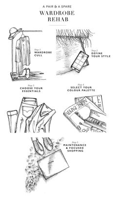 A Pair & A Spare | Wardrobe Rehab: 5 Steps to Perfecting Your Closet