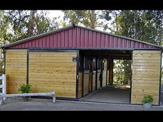 horse barns and stalls   Horse Barns and Arenas