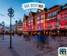 DICA: é a terceira maior cidade mais populosa da Alemanha, sendo também uma das que mais neva no país. Construções típicas e charmosas, esse destino é feito para quem sonha em passar pela Europa! #QueDestinoÉesse  http://www.clubeturismo.com.br/site/  RESP: MUNIQUE-ALEMANHA