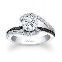 Black Diamond Engagement Ring. Want a man who knows I want this without being told