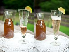 This is why I want to plant elderberry bushes this year! Cocktails, Alcoholic Drinks, Beverages, Elderflower Syrup Recipe, Elderberry Bush, Elderberry Recipes, Dressings, Homemade Ginger Ale, Tonic Water