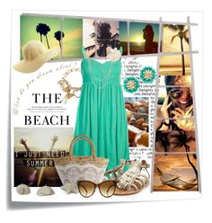 """Dreaming of Summer"" by amanda-pandell-gilmore ❤ liked on Polyvore"