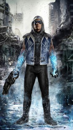 Concept Art: 'Captain Cold' From THE FLASH