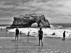 Natural Bridges State Beach California