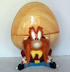 Image detail for -... Jars GI - Mc Looney Tunes Warner Brothers Yosemite Sam Cookie Jar