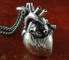 The Anatomical Heart Necklace, $55. This is adorable!