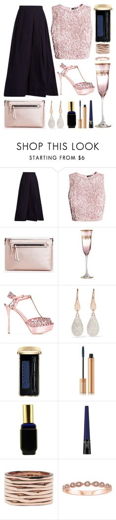 """Addison"" by goingdigi ❤ liked on Polyvore featuring REGULATION by Yohji Yamamoto, JustFab, Sergio Rossi, Monica Vinader, Guerlain, Yves Saint Laurent, Dana, Revlon and Repossi"