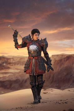 Dragon Age: Cassandra Pentaghast Cosplay - by Kseniya Valputskaya