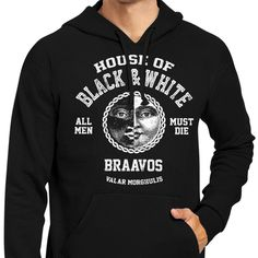 House of Black and White - Hoodie