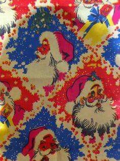 80s Christmas Wrapping Paper
