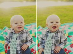 children photography #baby #tie #quilt