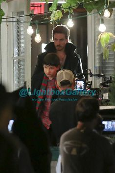 And @colinodonoghue1 was back with the kid, whose looking grown up. #OUAT #OnceUponATime Steveston
