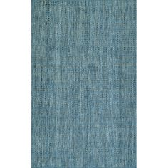 Found it at AllModern - Nepal Hand-Loomed Denim Area Rug