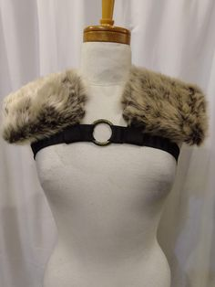 Burning Man, Festival, Rave Faux Fur Shoulder Holster Epaulets Steampunk Makeup, Venus And Mars, Festival Costumes, Burning Man, Shoulder Pads, Faux Fur, Vancouver, Alternative, Canada