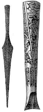 Viking age / Silver Plated spearhead / Laukko,Finnish