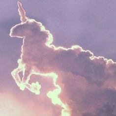 Amazing Nature: Clouds That Look like Animals . - MerlinAmazing Nature: Clouds That Look like Animals . Real Unicorn, Magical Unicorn, Happy Unicorn, Unicorn Pics, Unicorn Club, Unicorn Lipstick, Unicorns And Mermaids, Mythical Creatures, Amazing Nature