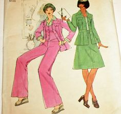 Vintage 1970s Simplicity 7393 Sewing Pattern by Old2NewMemories