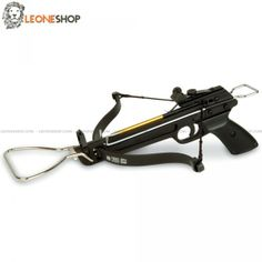 "Pistol Crossbow 80 Lbs MAN-KUNG, professional crossbows with anatomic gun handle to have a steady and safe grip, alluminium body with fiber bow, viewfinder, controller and polyester string - Lenght 12.5"" - Bow Lenght 17.5"" - Weight 1.54 lbs - Shooting power 80 Lbs - Speed 160 fps - Complete of 3 darts with aluminium body and metal tip - For Sale Online Professional Pistol Crossbows, blowguns and Slingshots, spare darts for crossbow MAN-KUNG and the whole series of dedicated spares."