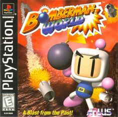 """Today in gaming history  Kaboom! That's the sound you'll hear when Bomberman World explodes onto your PlayStation! Developed by Hudson, it was just a matter of time before Bomberman would make his debut for the Playstation game console.  For those not familiar with Bomberman here is a brief introduction: You run around and blow up stuff! Well, it's not quite that simple.  This time the story revolves around a group of four evil people called the """"Dark Force Bombers"""" who want to destroy…"""