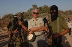 Vargas Llosa en Palestina (Foto: Morgana Vargas Llosa)