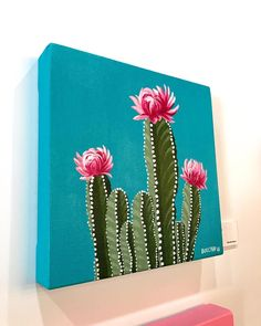 "4,035 Likes, 35 Comments - Philip Boelter (@boelterdesignco) on Instagram: ""'Ain't no party, like a cacti party! ---------------------------- See more art on…"" #OilPaintingInspiration"