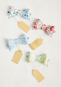 Cute Bow Tie Gift Ta