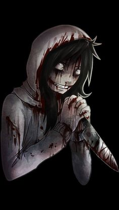 Jeff the killer is one of my biggest motivations because of the depth behind him. He has so much history and a touching story. The motivation I get from him isn't necessarily from him, it's from his story and the depth within it. The way it is written captivates you, introduces the main character as the bad guy. However, as the story progresses, you can't help but feel bad for the character and he seems less like the bad guy but a victim of himself.