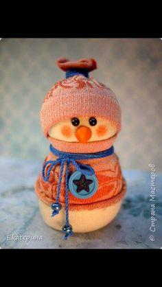 Exemple 3 de Bonhomme de neige avec chaussette