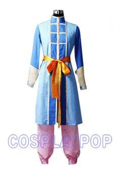 Fushigi Yugi Nuriko's Costume for Cosplay