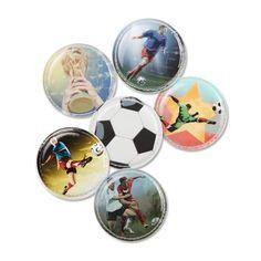 Fußball | Klettie-Set | ergobag Toooor, Toooor, das ist der Sieg zum Pokal – diese Kletties sind für Fußballbegeisterte.