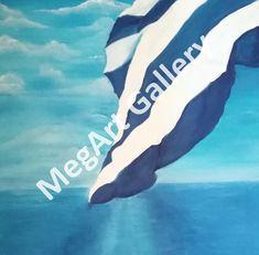 ΚΑΛΛΙΤΕΧΝΗΣ:ΡΗΓΑΤΟΥ ΜΑΡΙΑ ΔΙΑΣΤΑΣΕΙΣ:50X60CM ΕΛΑΙΟΓΡΑΦΙΑ TIMH:450,00 € Greece Art, Blue Artwork, Shades Of Blue, Art Gallery, Sea, Artist, Painting, Art Museum, Artists
