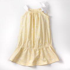 yellow pillowcase dress