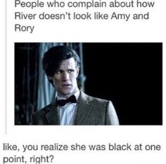 """Exactly! She """"regenerates"""" a bit too, as a Daughter of the TARDIS"""