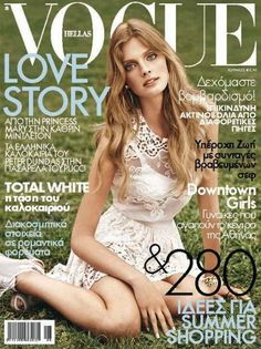 Constance Jablonski - Vogue Magazine Cover [Greece] (June 2011)