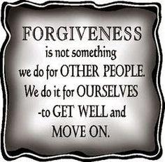 The Chaos Within: Prayer....Forgiveness...Hurts...Circles...Hope.     FORGIVENESS