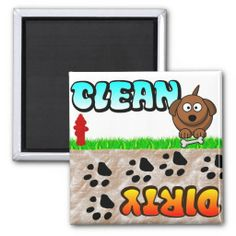 ==>>Big Save on          Clean Dirty Dishwasher magnet           Clean Dirty Dishwasher magnet online after you search a lot for where to buyReview          Clean Dirty Dishwasher magnet Online Secure Check out Quick and Easy...Cleck Hot Deals >>> http://www.zazzle.com/clean_dirty_dishwasher_magnet-147233637638534669?rf=238627982471231924&zbar=1&tc=terrest