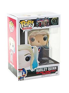 Harley Quinn from Suicide Squad is given a fun, and funky, stylized look as an adorable collectible vinyl figure! Heroes 97 3 tall Vinyl Imported By Funko Dc Comics, Harley Quinn Halloween Costume, Captain Boomerang, Deadshot, Funko Pop Star Wars, Pop Heroes, Joker And Harley, Age, Vinyl Figures