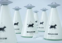 Molocow - milk package concept on Behance
