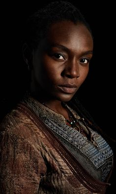 "Zethu Diomo as ""Madi"" in Black Sails."