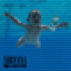 Legos and Classic Album Art