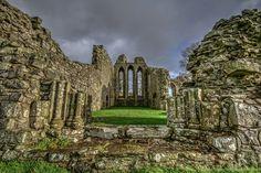 Inch Abbey, Down, Ireland