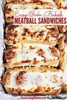 Saucy Meatball Sandwich Recipe Napkins Sauces And Recipes