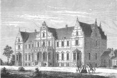 """Kokkedal Slot, Sjælland - Slottet har sin oprindelse som fæstegård under Hirschholm Slot. I 1746 blev det udskilt og overdraget til gehejmeråd Christian August von Berckentin, der lod landstedet (""""Landhaus Cockedahl"""") opføre som sommerbolig. Slottet blev tegnet af Johann Gottfried Rosenberg og var oprindeligt kun i én etage med mansardtag."""